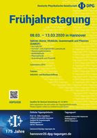 Tagungsplakat Hannover 2020